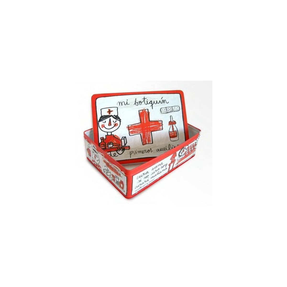 Botiquin Para Baño Medidas:regalos originales, CAJA METAL BOTIQUIN