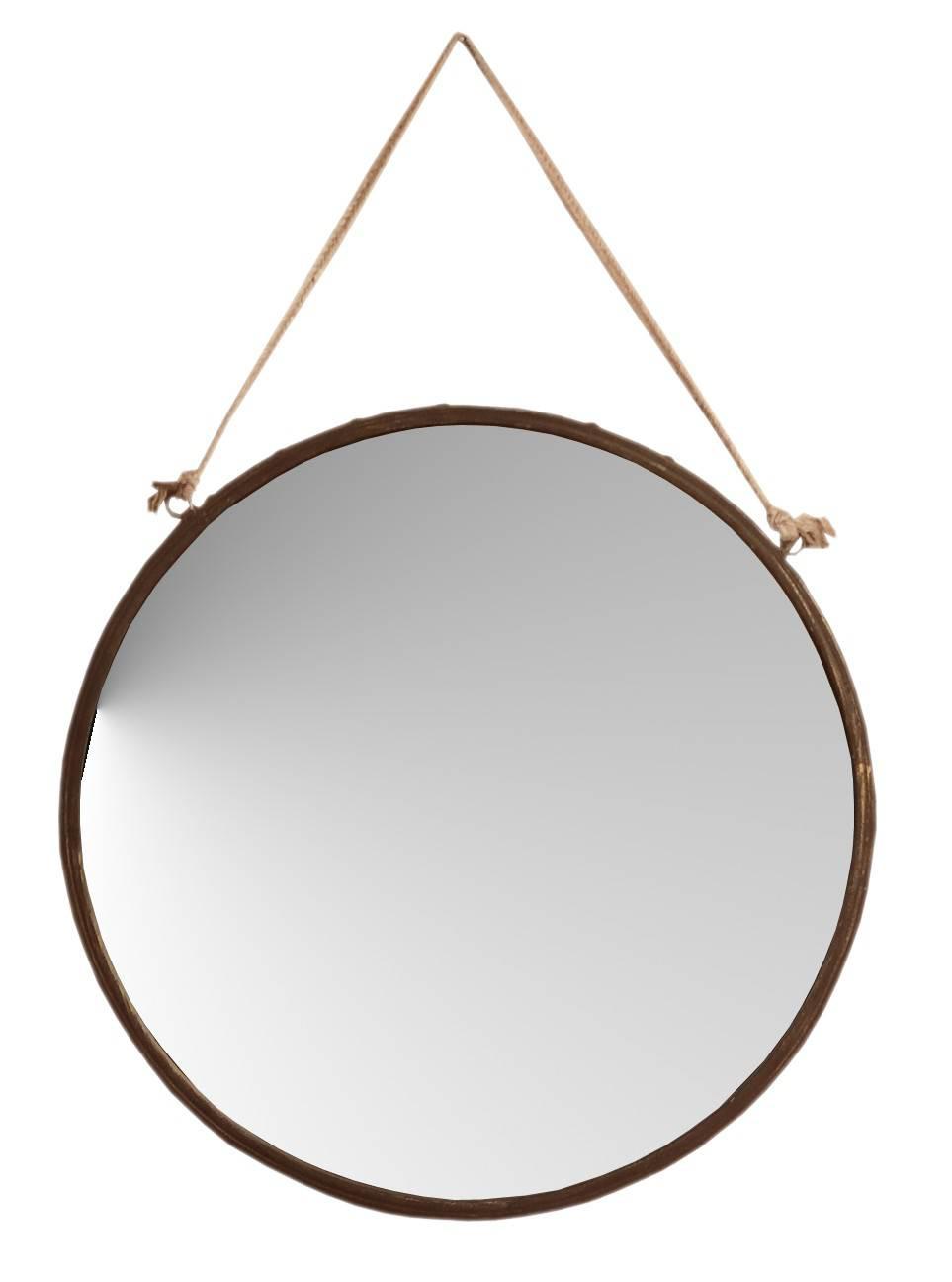 Espejos pared grandes como decorar con espejos su pared y for Espejo redondo cuerda