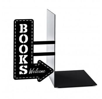 Sujeta libros Cartel Tienda de libros