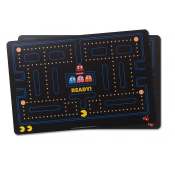 Set 2 manteles individuales Pacman comecocos