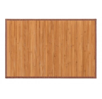 Alfombra bambu 60x90 natural marrón