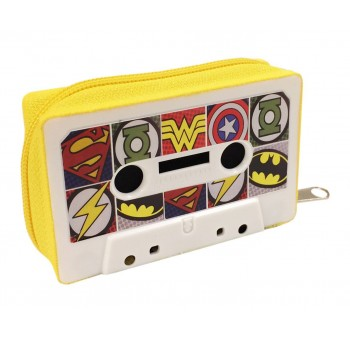 Monedero Cassette retro Superhéroes