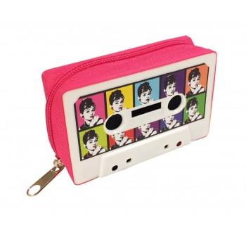 Monedero Cassette retro Audrey Warhol