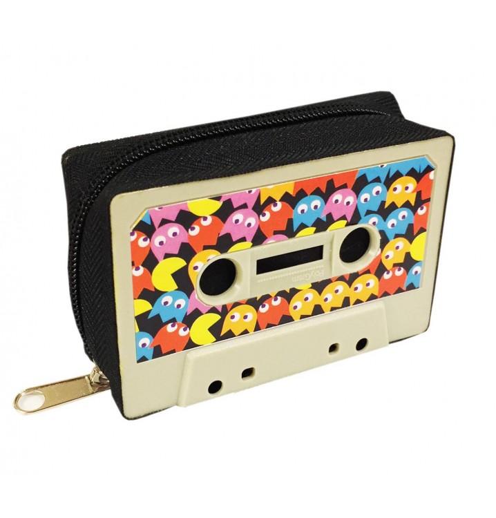Monedero Cassette retro Comecocos Pacman