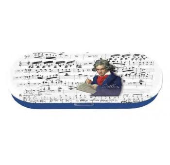 Funda estuche gafas metal Beethoven