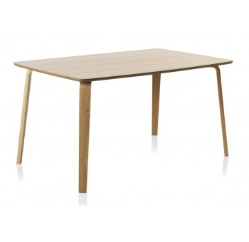 Mesa rectangular comedor madera haya Finland modelo 2