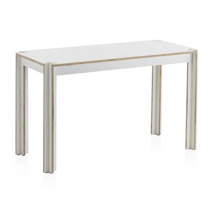 Mesa escritorio Kids madera blanca