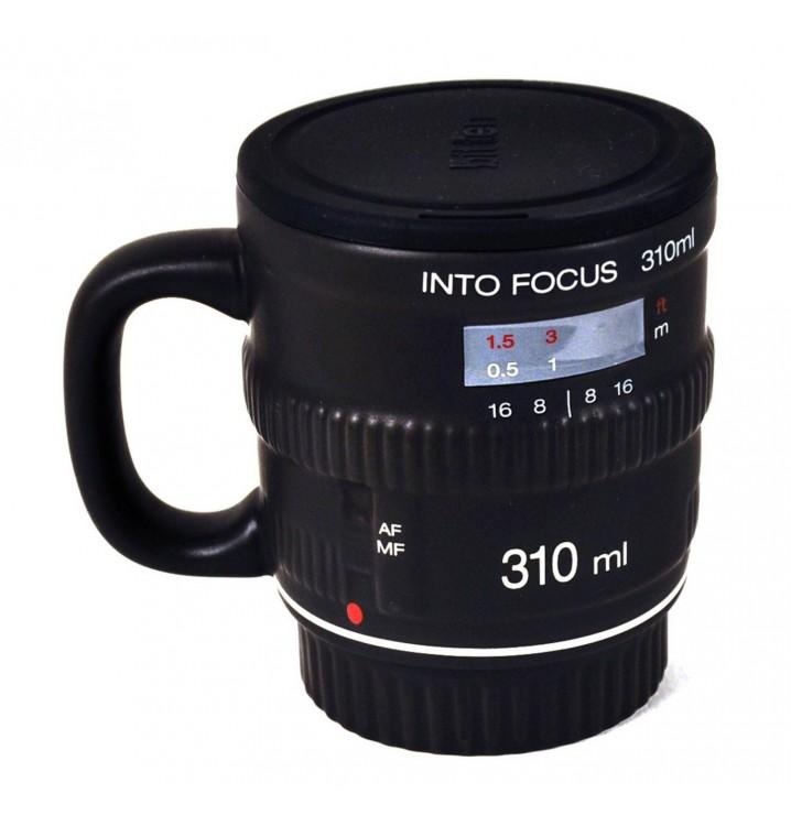 Taza mug lente objetivo Cámara cerámica