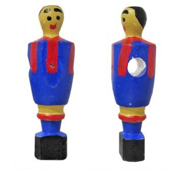 Imán figura futbolín madera Real Madrid