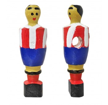 Imán figura futbolín madera Barsa