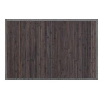 Alfombra bambú gris 60x90