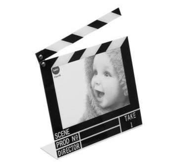Marco de fotos claqueta 10x15 cm