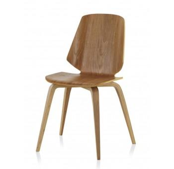 Silla madera roble Finland modelo 3